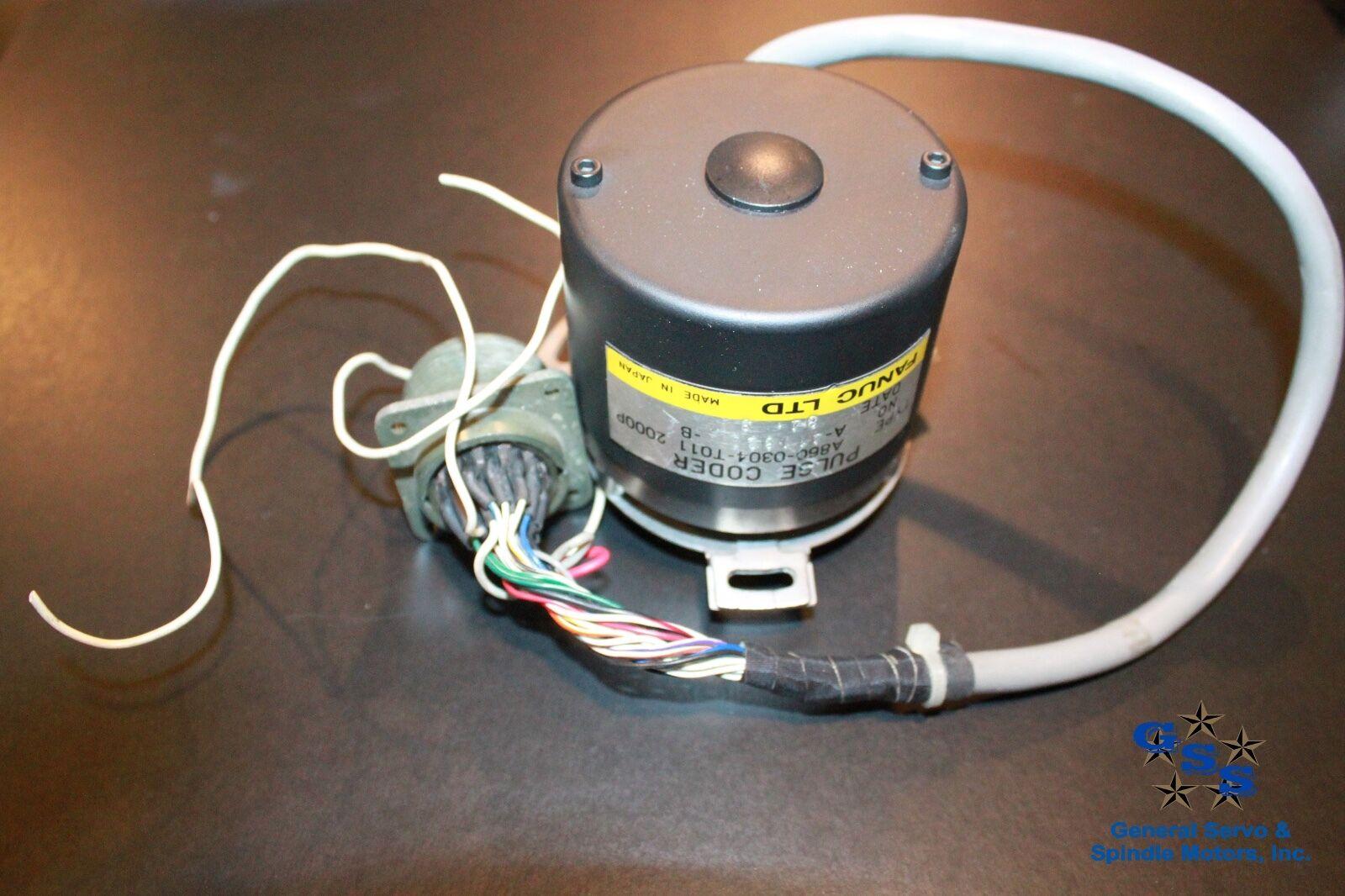 Fanuc-Pulsecoder-A860-0304-T011-122272002915 | General Servo